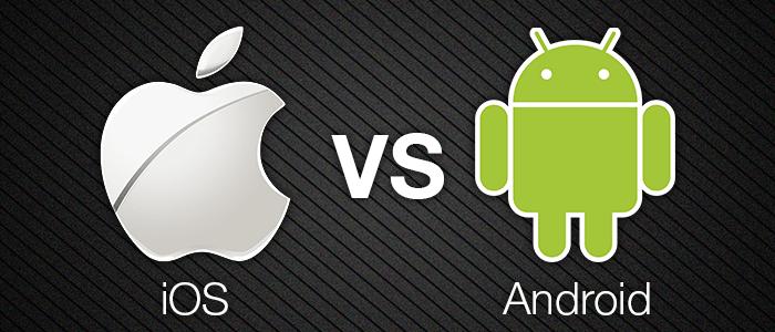 Android, İOS, cep telefonu işletim sistemleri
