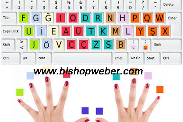 Bilgisayarda hızlı yazı yazabilme, on parmak klavye kullanma, bilgisayar klavyesini on parmak kullanma